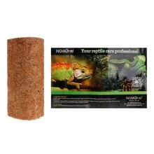 Рептилия колодка кокосовое рептилий Чехол подушки дышащие мягкие Натуральный домашних животных коврик среду обитания для Человек-паук ящерица, змея черепаха