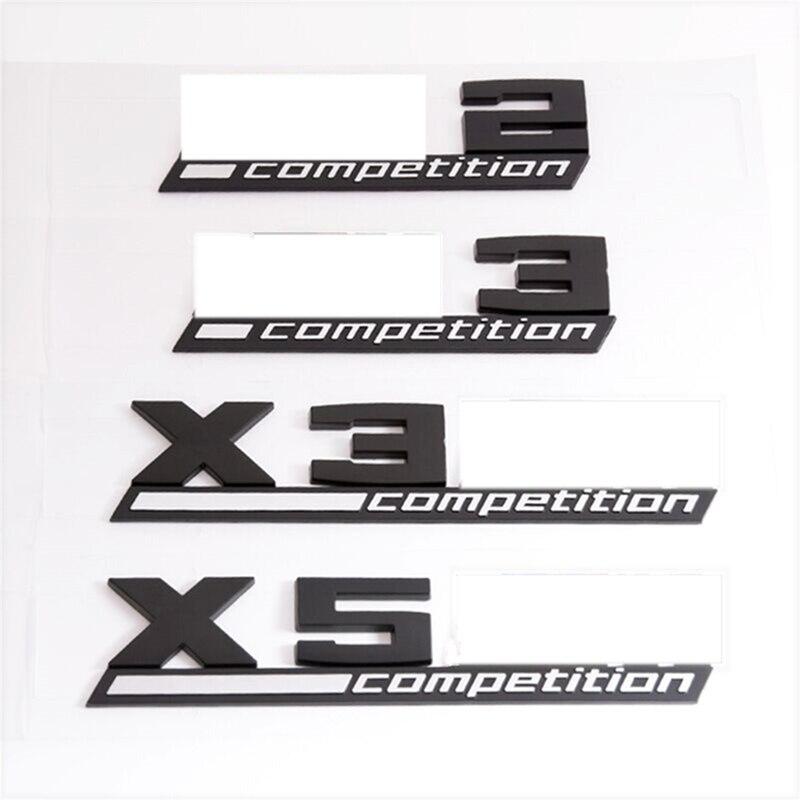 3d-эмблема из АБС-пластика для BMW Thunder Edition M1 M2 M3 M4 M5 M6 X1M X2M X3M X4M X5M X6M значок на багажник автомобиля