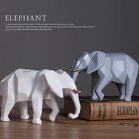 Creative Piggy Bank Nordic Desktop Decoration Fashion Geometry Elephant Piggy Adult Personality Change Coin Money Bank