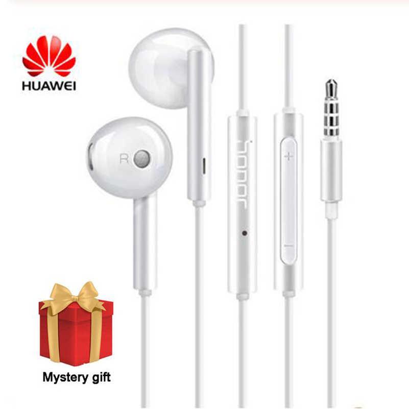 Huawei AM115 écouteur avec micro stéréo écouteurs pour iPhone 6 6s Samsung Xiaomi Huawei Smartphone MP3 PC