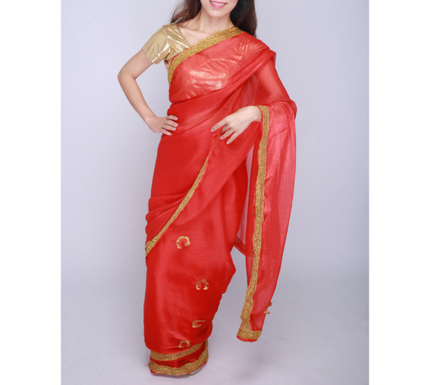 Indian Pakistani Dress Wedding Party Dress Sally For Women Clothing Red In Sari For Women In India 2