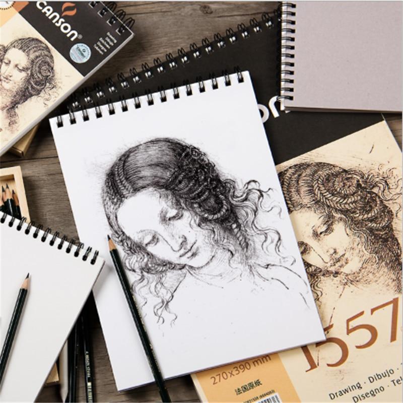 canson profissional 155g m2 artista desenho esboco livro 8 k 16 k 32 k 1557 esboco