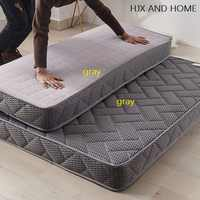 8cm thickness 4D breathable fabric Hard health Polyeste filling mattress Protect the spine folding bed product