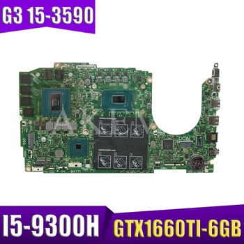 Laptop motherboard for Dell Inspiron G3 15-3590 original mainboard I5-9300H GTX1660TI-6GB