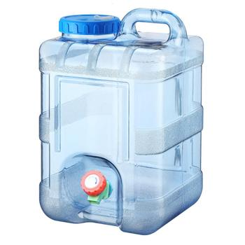 Drinking Water Container Big Capacity Outdoor Portable Drinking Water Tank Dispenser With Faucet For Camping Hiking Picnic BBQ ce emc lvd fcc portable drinking water treatment system