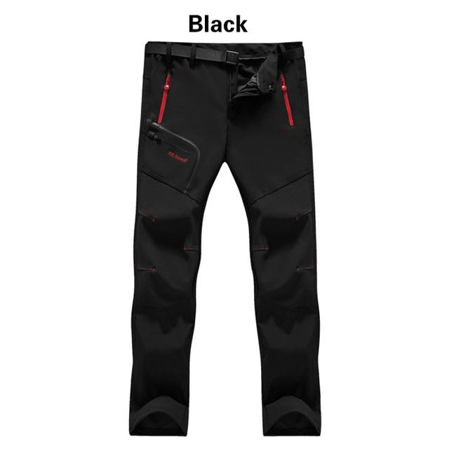 Men Winter Outdoor Pants 2020 Casual Trekking Hiking Windproof Summer Mens Trousers Warm Plus Size Camping Climb Run Male Pants 4