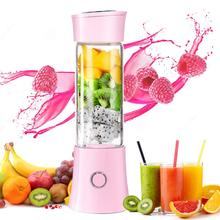 Exprimidor de fruta eléctrico USB batidor de mano para licuadora recargable Mini taza de jugo portátil agua 22000rpm