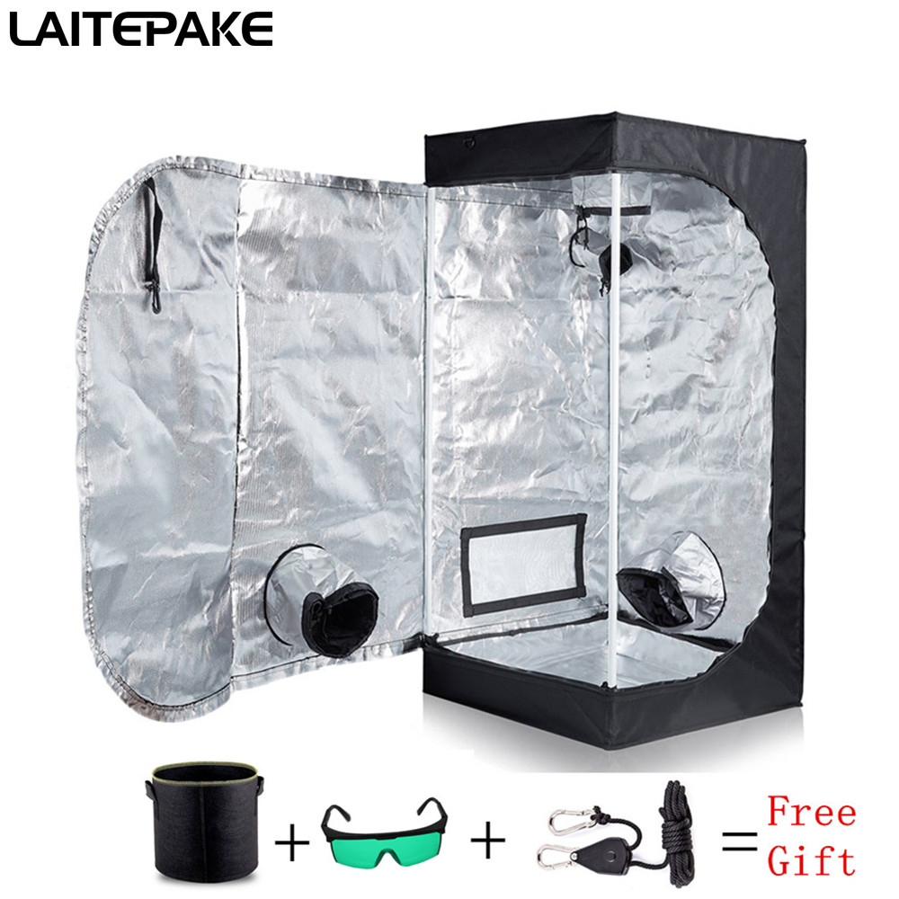 Grow Tent For Indoor Hydroponics Greenhouse Plant Lighting Tents 40x40x140cm Growing Tent Grow Box