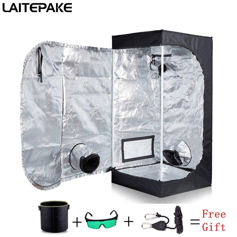 Grow Tent For Indoor Hydroponics Greenhouse Plant Lighting Tents 40x40x140cm Growing Tent Grow Box