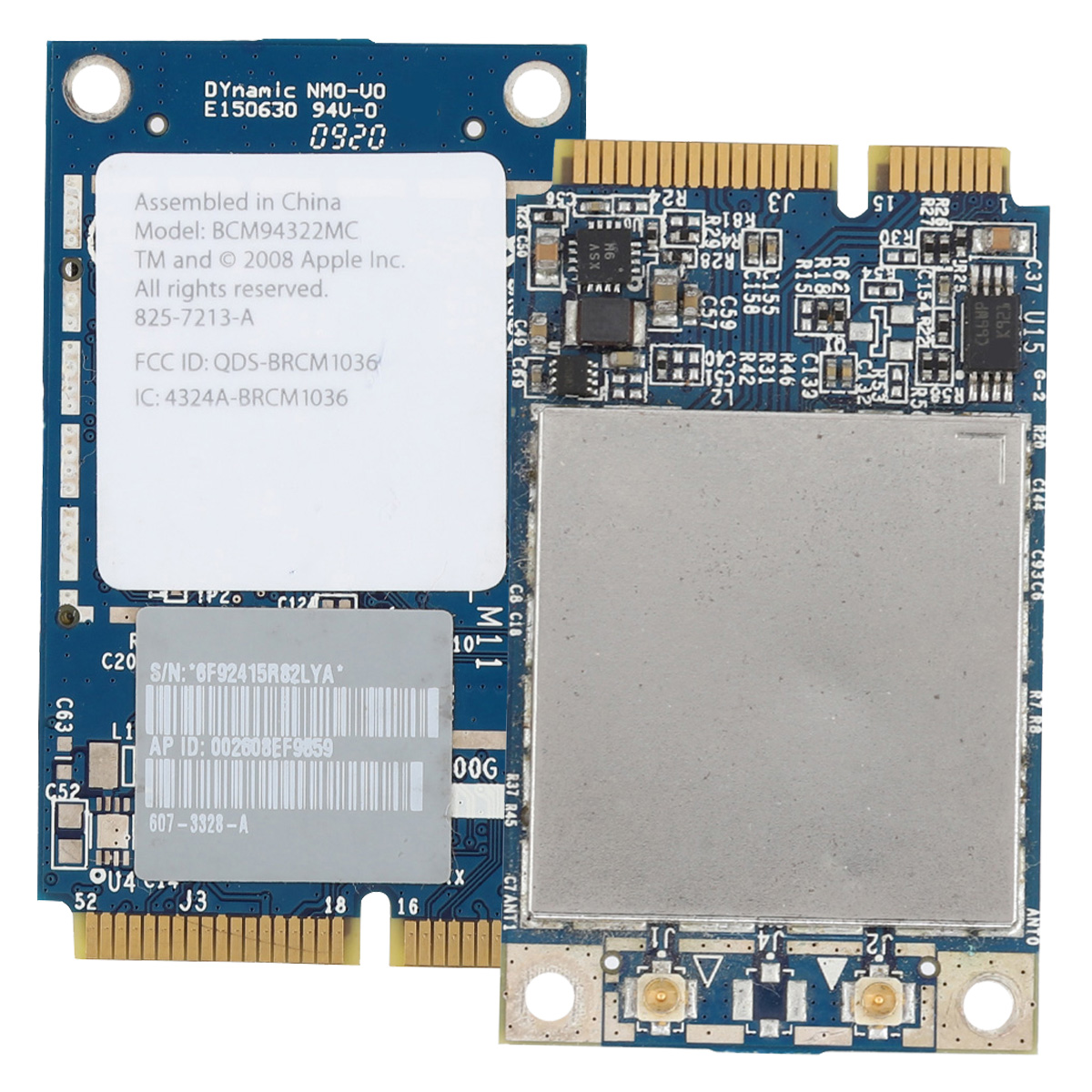 BCM94322MC 300M Mini PCI-E WiFi Card Dual-Frequency Network Cards For Mac Pro MB988Z/A Network Card