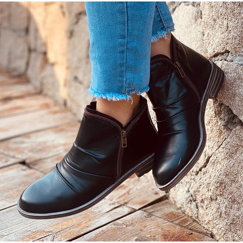 Women-Boots-Leather-Ankle-Boots-Flat-Shoes-Winter-Snow-Boots-Zipper-Retro-Punk-Boots-Ladies-Shoes. (1)