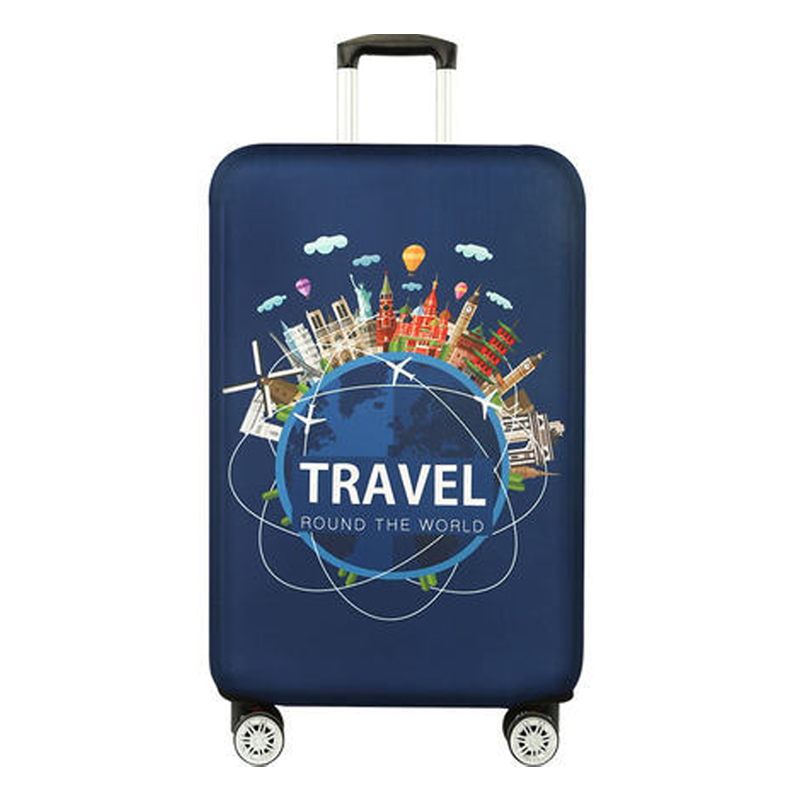 Luggage Elastic Protective Covers For 18-32 Inch Suitcase Cover Travel Accessories Baggag Dust Cover Travel Trolley Luggage Case