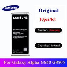 Аккумулятор 10 шт/лот для samsung galaxy alpha sm g850f g8508s
