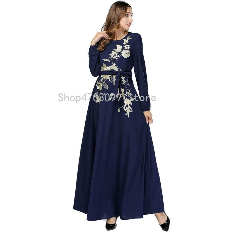 ABAYA avec zip Jilbab Hijab Caftan islamique Wear Robe longue M L XL XXL 3XL