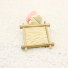 Bathroom Dish Wooden Soap Tray Holder Storage Soap Rack Plate Box Container for Bath Shower Plate Bamboo Wooden Soap(China)