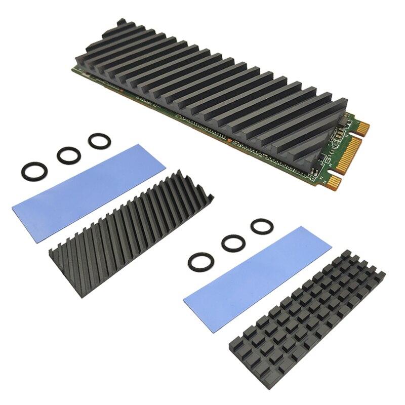 Графеновый радиатор из чистой меди M.2 NGFF 2280 PCI-E NVME SSD