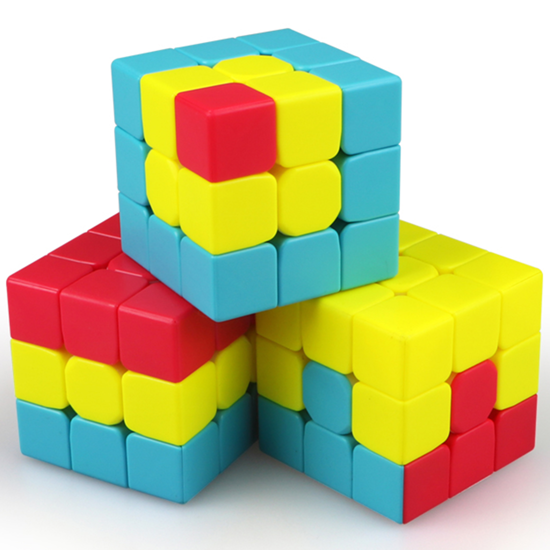 Surwish Qiyi Unicorn / Pudding /IVY /Bumpy /Sandwich /Little Red Hat Magic Cube Set Speed Cubes Puzzles Toys For Kids Gifts 2019