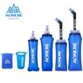 170 мл 200 мл 250 мл 500 мл 350 мл 600 мл AONIJIE Беговая Спортивная бутылка для воды для велосипеда, складная термополиуретановая мягкая колба для воды