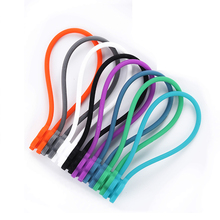 Cord-Winder Cable-Holder Magnet-Cable Headphone Clip-Plum Blossom-Shape Finishing Silicone