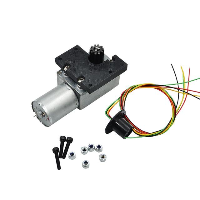 Upgrade Metal Driven Rotary Motor for HUINA 1550 RC Crawler Car 15CH 2.4G 1:14 RC Metal Excavator