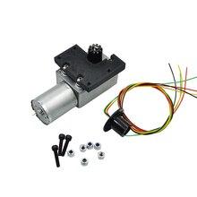 Yükseltme Metal tahrikli döner Motor HUINA 1550 RC paletli araba 15CH 2.4G 1:14 RC Metal ekskavatör