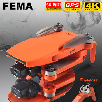 FEMA SG108 drone 4k HD with Camera 5G WiFi GPS dron brushless FPV drone rc 1KM Long Distance RC Quadcopter Professional VS EX5