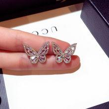 14K Rose Gold Diamante Natural Garnet Brinco para As Mulheres Belas Oorbellen Mujer Bijoux Femme Aretes Orecchini Brincos de Pedras Preciosas Do Parafuso Prisioneiro
