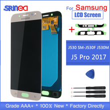 サムスンギャラクシー J5 2017 ディスプレイ J530 液晶 SM J530F J530M J5 画面のプロ Lcd ディスプレイとタッチスクリーンデジタイザ国会