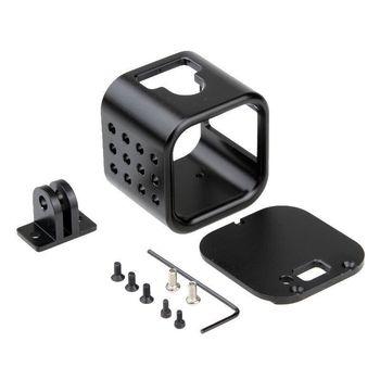 CNC Aluminium obudowa ochronna przypadku rama pokrywy dla GoPro Hero 4 5 sesja Go Pro akcesoria do kamer sportowych tanie i dobre opinie NEELU 0478