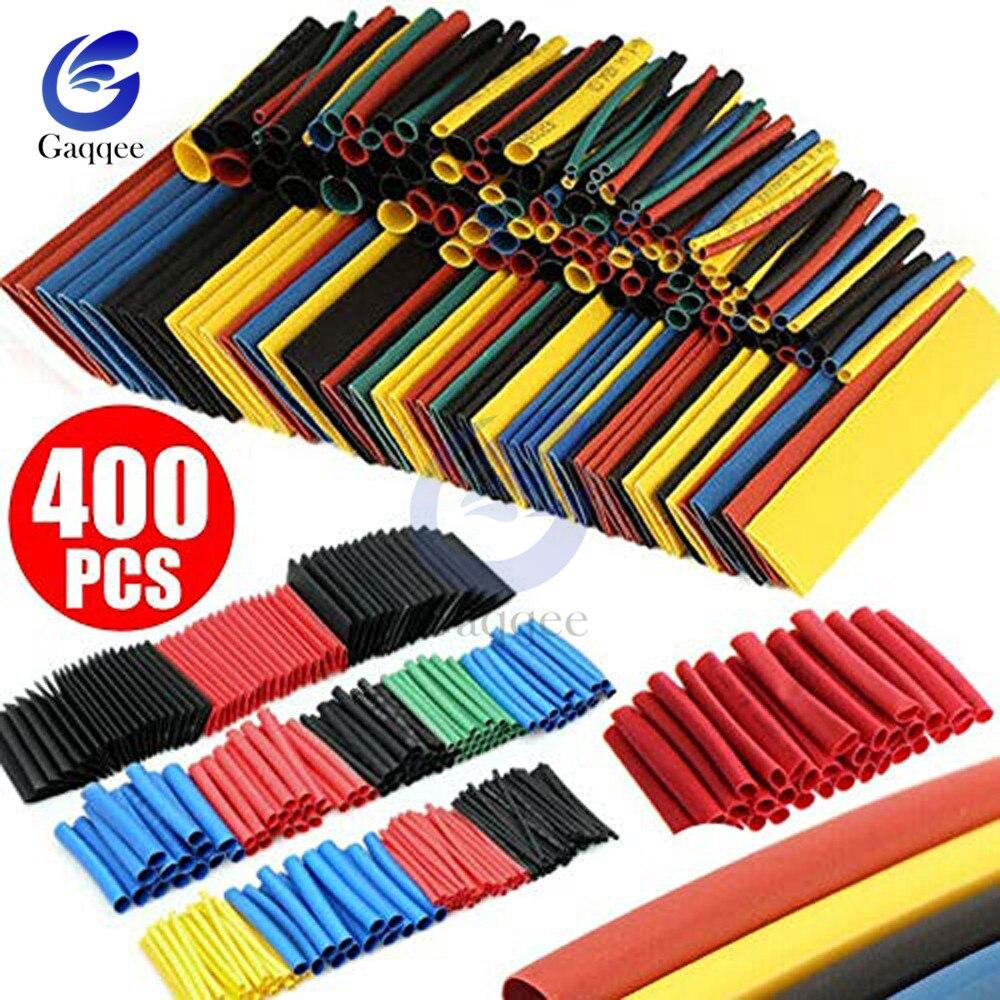 400 teile/los Polyolefin Schrumpf Tube Set 3,5mm/8 Größen 1-14mm 21 Schrumpf Schläuche isolierung Schrumpf Schlauch Draht Kabel