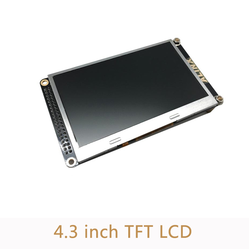 <font><b>4.3</b></font> <font><b>inch</b></font> <font><b>TFT</b></font> LCD display module for FPGA development board 480(RGB) * 272 <font><b>TFT</b></font> monitor with 10 LEDs XL008 image