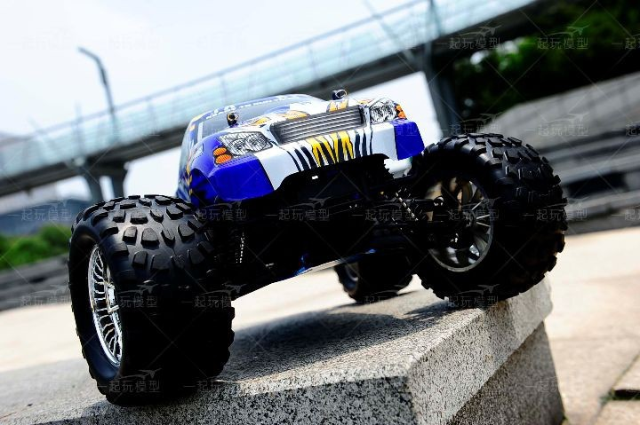 Free shipping RC Monster HSP 94188 Nitro 4WD 2.4GHz 110 RTR RC CAR Big Foot d6