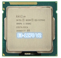 Четырехъядерный процессор Intel Xeon E3-1270 v2 3,5 ГГц, четырехъядерный процессор 8M 69W LGA 1155
