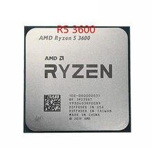 Amd ryzen 5 3600 r5 3600 de 3,6 ghz, seis-núcleo 12-hilo de processador de cpu 7nm 65w l3 = 32m de 100-000000031 zócalo de am4
