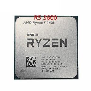 AMD Ryzen 5 3600 R5 3600 de 3,6 GHz Six-Core 12-Hilo de procesador de CPU 7NM 65W L3 = 32M de 100-000000031 zócalo de AM4