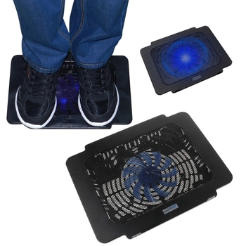 Laptop Cooler Cooling Pad Base Big Fan USB Stand For 14 Inch LED Light Notebook mini folding usb 2 0 2 fan base cooler pad for 10 14 notebook blue