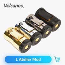 Volcanee L Atelier Cơ Mod 18350 Pin Cơ Vape Mod Cho RDA RTA RBA Atomizer Vape Xe Tăng Mod Kit E thuốc Lá
