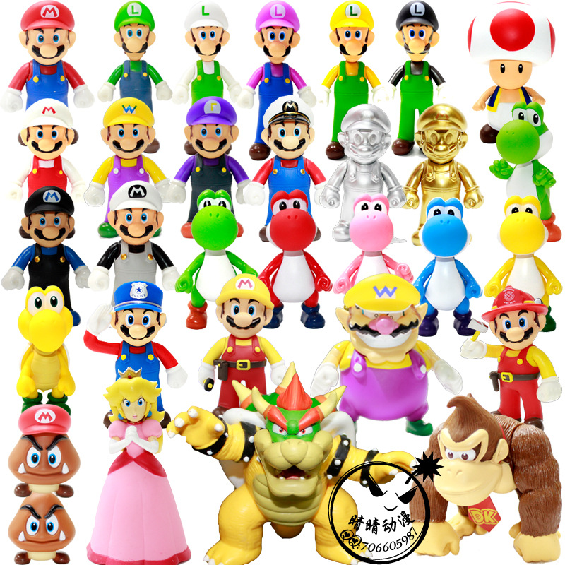 Фигурки супер Марио, игрушки Марио, братья, Луиджи Одиссей, экшн-Фигурки Марио, ПВХ игрушки, Фигурки Марио, аниме фигурки Супер Марио, модель