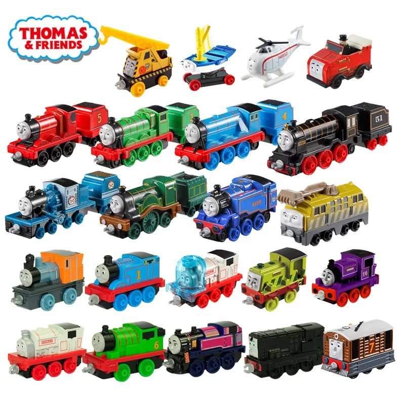 45 Style Thomas And Friend Strackmaster 1:43 Train Model Car Kids Toys For Children Diecast Brinquedos Education Birthday Gift