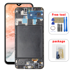 For Samsung Galaxy A20 A205G/DS A205F/DS A205GN/DS SM-A205FN/DS Lcd Display Touch Screen Digitizer Assembly +Frame(China)