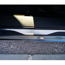 For 2014 2016 2017 2018 Mazda 3 Stainless Steel Door Sills Kick Scuff Plate Guard Pedal Protector Strips Trim Car Accessories for car styling sticker mazda 3 2014 2019 stainless door sill sills kick scuff plate protector trim cover guard auto accessories