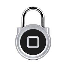 Usb зарядка отпечатков пальцев замок умный Противоугонный без ключа отпечатков пальцев замок P10 для Toolbox склад шкафчики велосипед