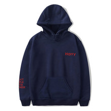 blue Hoodies lil peep Hot Harry Styles Treat People With Kindness letter pattern Men/Women And Children Harry Styles hooded