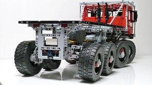 Image 2 - Teknik MOC serisi Marauder araç seti yapı taşları eğitici oyuncaklar çocuklar için Model hediye ile uyumlu Lepining tuğla