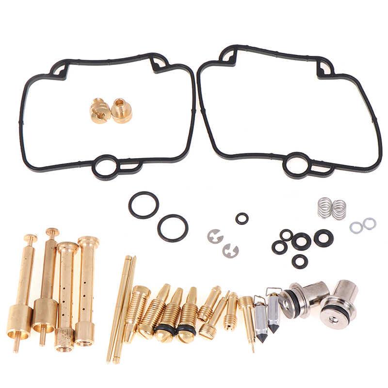 2 セット調整可能なキャブレターの修理はガスケットキットフィットモーターバイク交換工具部品