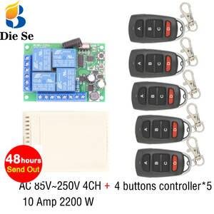 Controlador remoto de c/ódigo de aprendizaje del mando a distancia 1527 de RF 433 MHz para la alarma de controlador de puerta de garaje