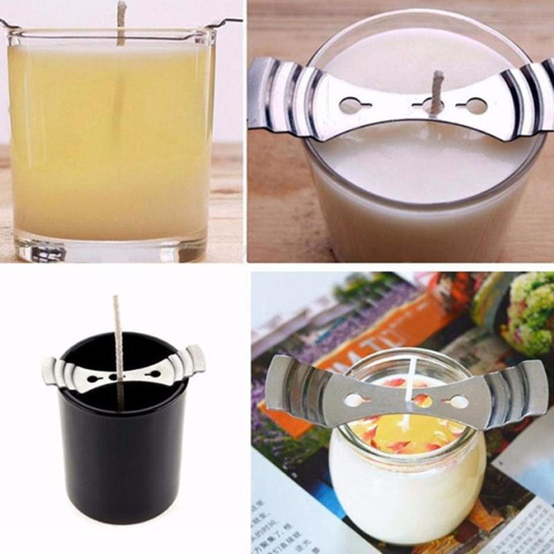 1/5pcs Metal Candle Wicks Holder Centering Device Diy Handmade Candle Wicks Making Accessories Candle Mold Home Decor Wholesale For Fast Shipping