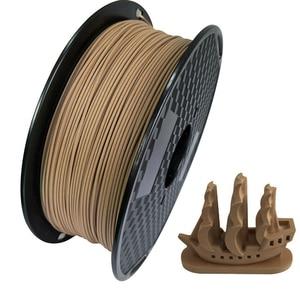 Image 4 - PLA Filament 1.75mm Wood Pla Filaments 3D Printer Non toxic 500g/250g Sublimation Supplies Wooden Effect 3D Printing Materials