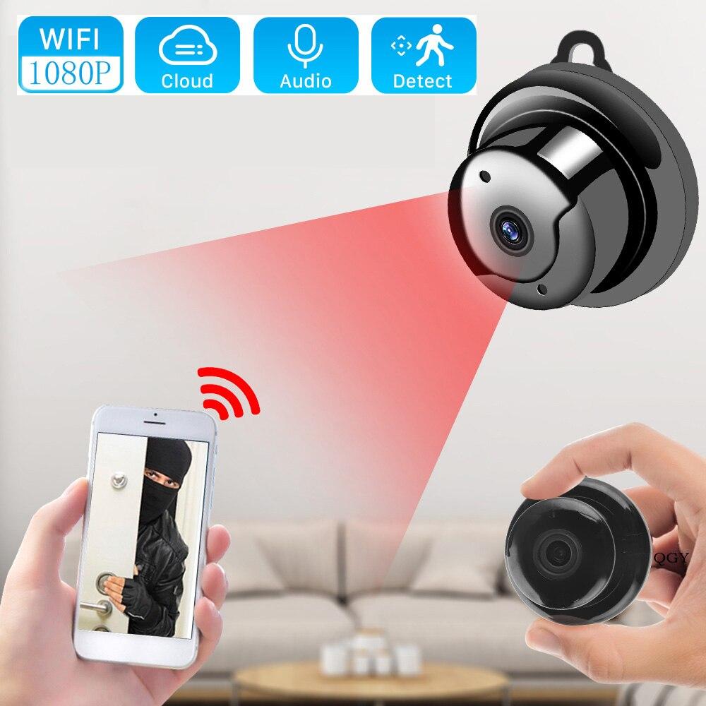 Câmera ip mini cam webcam câmera de visão noturna camara hd casa ao ar livre 360 wirelesskamepa wi-fi vigilância monitor do bebê