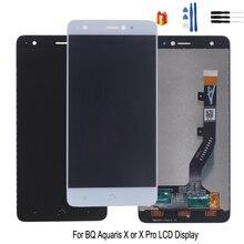 Original For BQ Aquaris X LCD Display Touch Screen Digitizer Assembly For BQ Aquaris X Pro Screen LCD Replacement Free Tools lcd screen display for asus vivobook s15 s510uq bq s510uq bq496t s510uq bq293t s510uq br s510uq bh71 s510uq eb76